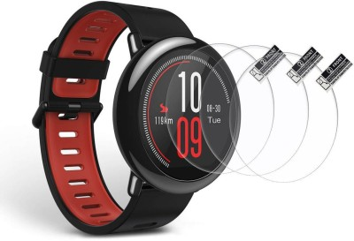 TODO DEALS Screen Guard for AMAZFIT, PACE, WATCH, HAND, SCREEN, PROTECTOR, GUARD, WRIST, ARM, SMART, DEVICE, 9H, TEMPERED, TOUCH, SMART, DISPLAY, GLASS, PROTECTION, BEST, SELLER, UNBREAKABLE, BUY, ONLINE, PROTECT, SAFE, TRANSPARENT, FLEXIBLE, THIN, SCREENGUARDS, ACCESSORIES, TOUCH(Pack of 3)