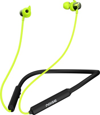 Noise Tune Elite Sport Neckband Bluetooth Headset (Zesty Lime, In the Ear)