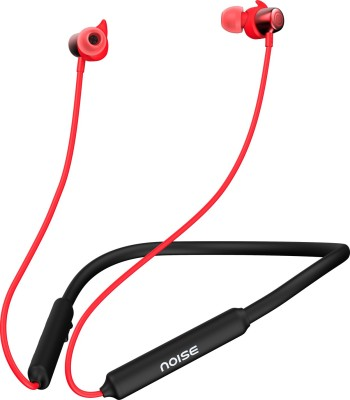 Noise Tune Elite Sport Neckband Bluetooth Headset (Vivid Red, In the Ear)