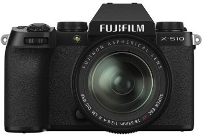 FUJIFILM X Series X-S10 Mirrorless Camera Body with XF 18 - 55...
