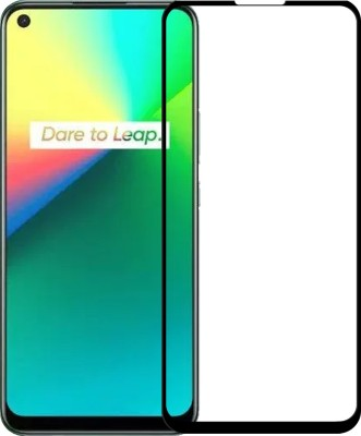 Karpine Edge To Edge Tempered Glass for Realme 7(Pack of 1)