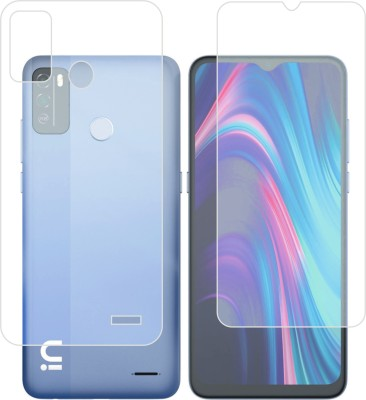 DESIBUZZ Front and Back Screen Guard for Micromax IN 1b(Pack of 2)