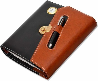 PAPERLLA Leather Gift Set| Diary 2021 Corporate | Business | Executive All in One Planner for Men & Women with...