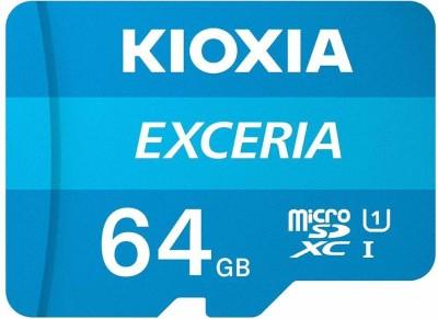 kioxia Exceria 64  GB MicroSD Card Class 10 100 MB/s Memory Card kioxia Memory Cards
