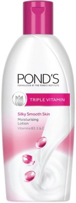 Ponds Triple Vitamin Moisturizing Lotion(300 ml)