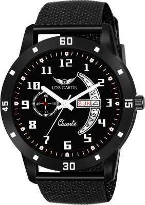 LOIS CARON LCS-8184 DAY & DATE FUNCTIONING WATCH Analog Watch  - For Men