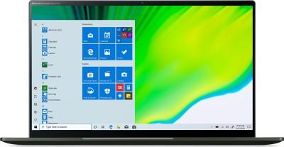 Acer Swift 5 Core i5 11th Gen - (8 GB/512 GB SSD/Windows 10 Home) SF514-55TA Thin and Light Laptop(14 inch, Mist Green, 1.05 kg)