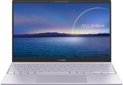 ASUS ZenBook 13 Core i7 11th Gen - (16 GB/1 TB SSD/Windows 10 Home) UX325EA-EG701TS Thin and Light Laptop(13.3 inch, Lilac Mist, 1.11 kg, With MS Office)