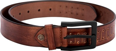 Alton Men Casual, Party, Evening Brown Genuine Leather Belt