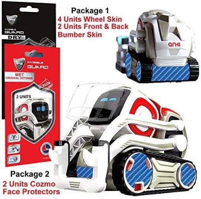 IPG for Cozmo Robot Face Screen Guard KIT Excellent Protector from Unexpected Attacks of Kids and Pets. Include Wheels Bumpe(Blue)
