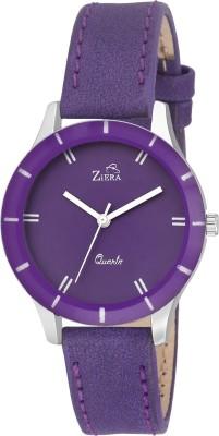 ZIERA Purple Dial Analog Watch   For Girls ZIERA Wrist Watches