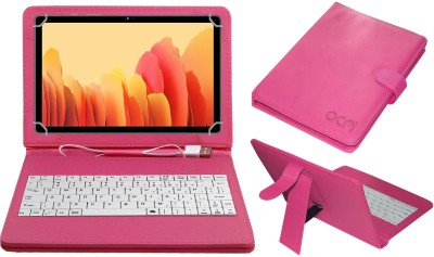 ACM Keyboard Case for Samsung Galaxy Tab A7 LTE 10.4 inch(Pink, Cases with Holder)