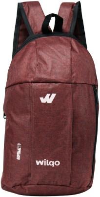 WILQO Casual Bag 10 L Laptop Backpack Maroon WILQO Backpacks