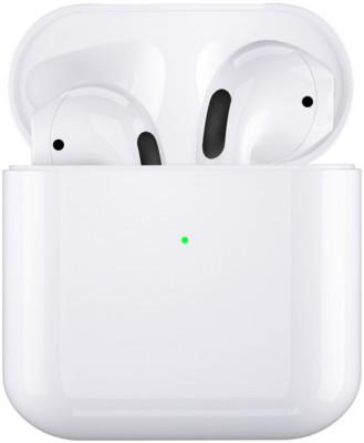 Mi-STS Smartbuds 4 Headset with Bass Wireless Headphone Noise Reduction Bluetooth Headset(White, True Wireless)