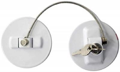 HASTHIP SNOWIE SOFT® Men's Refrigerator Key Lock Safety Lock Window Refrigerator Safety Limit Lock Drawer Door Secur as Shows as...