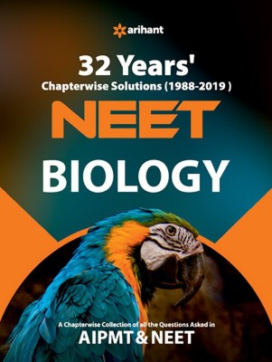 32 Years' Chapterwise Solutions Cbse Aipmt & Neet Biology 2020(English, Paperback, unknown)