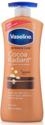 Vaseline Intensive Care Cocoa Radiant Body Lotion 600 ML MADE IN USA(600 ml)