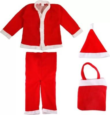 Mitsy Santa Clause Kids Costume Wear