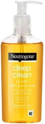 NEUTROGENA Deep Clean Gel Wash Face Wash(200 ml)