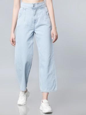 Tokyo Talkies Flared Women Light Blue Jeans