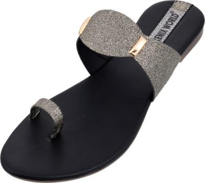 Kenix World Women Grey Flats