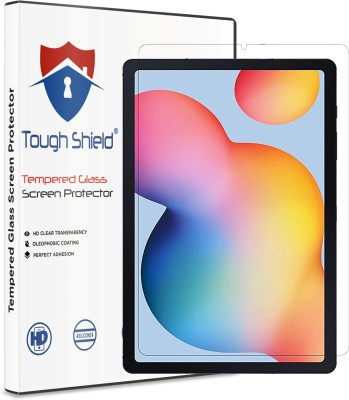 TOUGH SHIELD Tempered Glass Guard for Samsung Galaxy Tab S6 Lite 10.4 inch(Pack of 1)
