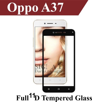 Bastex Edge To Edge Tempered Glass for Oppo Neo 9 A37F(Pack of 1)