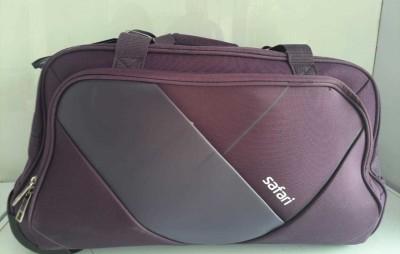 SAFARI WEAVE RDFL 55 PURPLE Travel Duffel Bag Purple SAFARI Duffel Bags