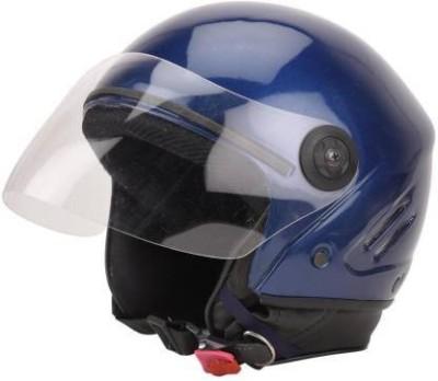 BThelmet TRACK ISI HELMET-BLUE Motorbike Helmet (Blue) Motorbike Helmet(Blue)