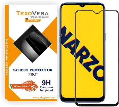 TexoVera Tempered Glass Guard for Realme Narzo 10 Screen Guard with installation Kit(Pack of 1)