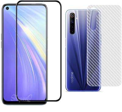 TexoVera Edge To Edge Tempered Glass for Realme 6(Pack of 1)