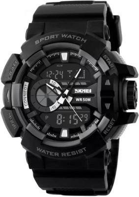 SKMEI SZ1117BLK Analog Digital Watch   For Men SKMEI Wrist Watches