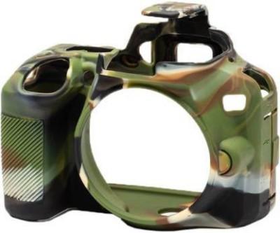 Onkliq Silicon Rubber Camera Case/Cover For Model D3500 Camera Bag(army print)
