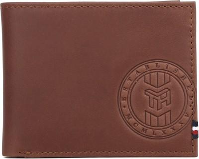 TOMMY HILFIGER Men Brown Genuine Leather Wallet 8 Card Slots TOMMY HILFIGER Wallets