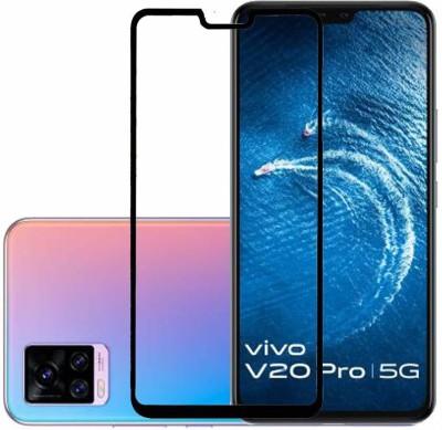 LIKEDESIGN Edge To Edge Tempered Glass for Vivo V20 Pro(Pack of 1)