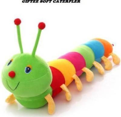 KBSH good quality Soft touchCute Caterpillar   45cm    45 cm Multicolor