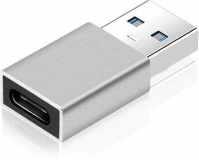 Ravbelli USB Type C Female to USB Male Adapter USB Type C Female to USB Male Adapter - USB C to USB A Connector,Works with Laptops,Chargers,and More Devices with Standard USB A Interface USB Charger, Laptop Accessory(Multicolor)
