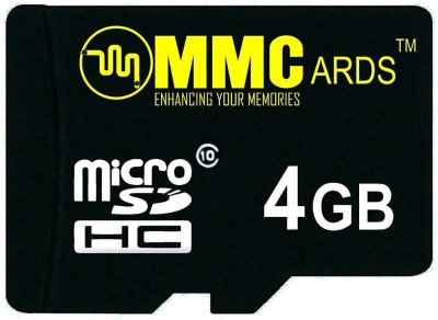 MMCards Ultra U1 4 GB MicroSD Card Class 10 90 MB/s Memory Card