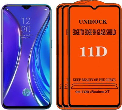 Unirock Tempered Glass Guard for Realme XT(Pack of 3)