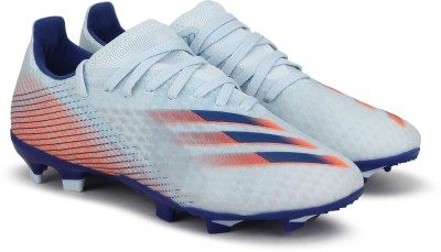 ADIDAS X GHOSTED.3 FG Football Shoes For Men Blue ADIDAS Sports Shoes
