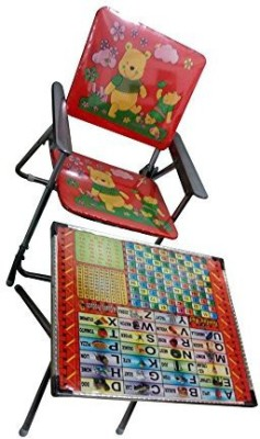 Mavi Plastic Desk Chair(Finish Color - Multicolor)