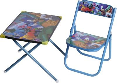 NHR Metal Desk Chair(Finish Color - Blue)