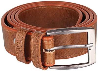 Krishna Men Casual, Party, Formal, Evening Tan Artificial Leather Belt