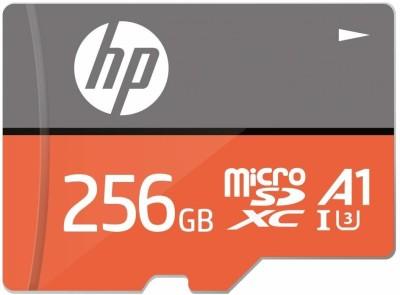 HP U3,A1 256  GB MicroSDXC Class 10 100 MB/s Memory Card HP Memory Cards