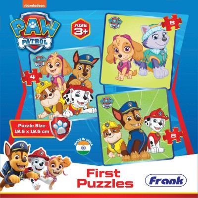 Frank Paw Patrol - First Puzzle (18 Pieces)