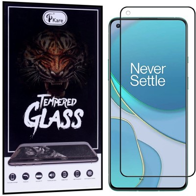 iKare Edge To Edge Tempered Glass for Oneplus 8T(Pack of 1)