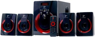 I KALL IK 41 Multimedia 4.1 Speaker System with Bluetooth, Aux, USB, FM Connectivity 60 W Bluetooth Home Theatre(Black, 4.1...