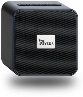Syska BT4070X 4 W Bluetooth Speaker(Black, Stereo Channel)