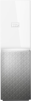WD 2 TB External Hard Disk Drive with 2 TB Cloud Storage(White, Silver)