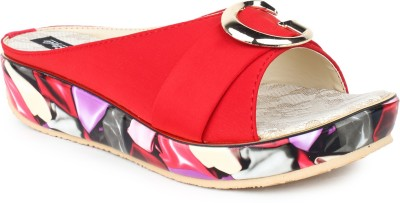 STAR STYLE Women Red Wedges STAR STYLE Wedges